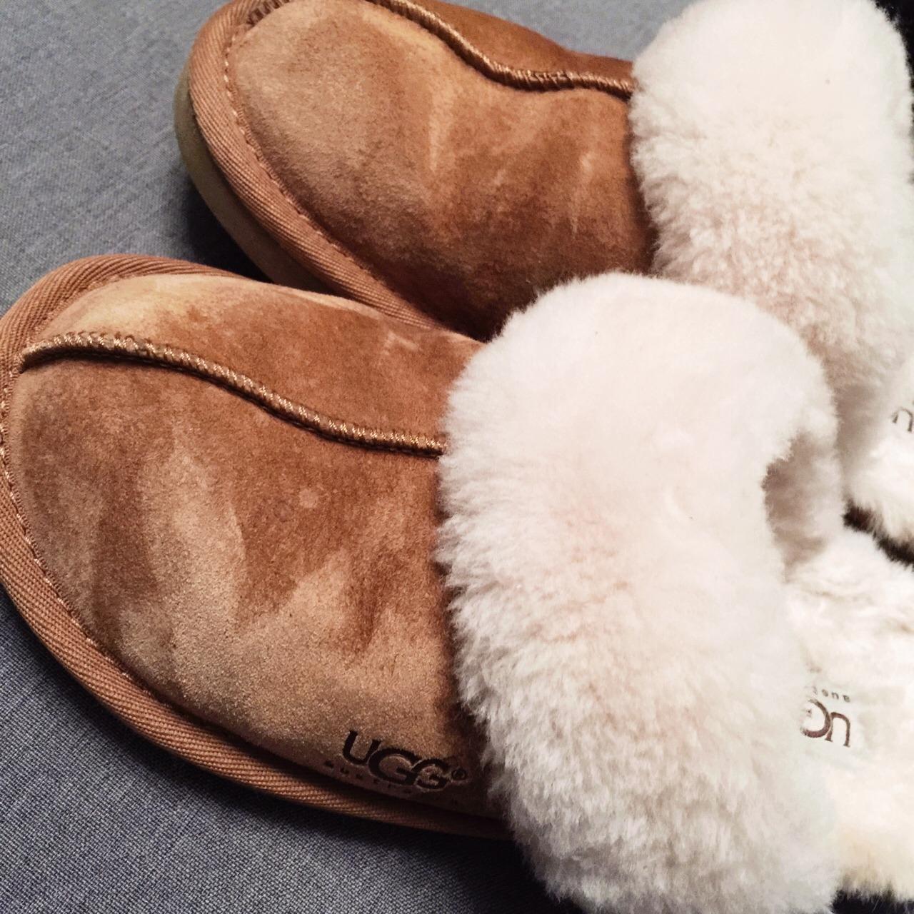 过冬必须来双ugg的拖鞋