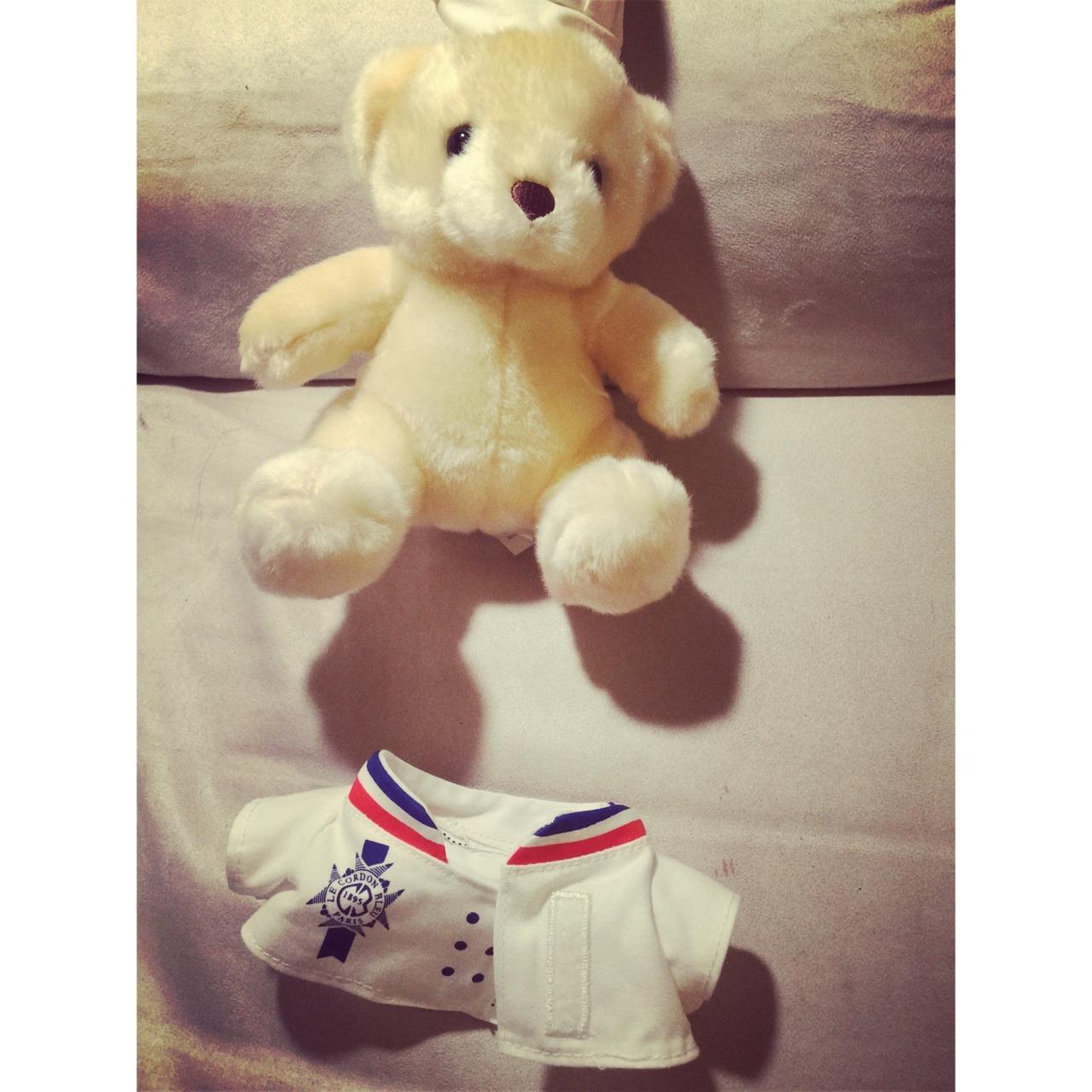 位于澳洲悉尼顶级糕点学校蓝带的纪念小熊