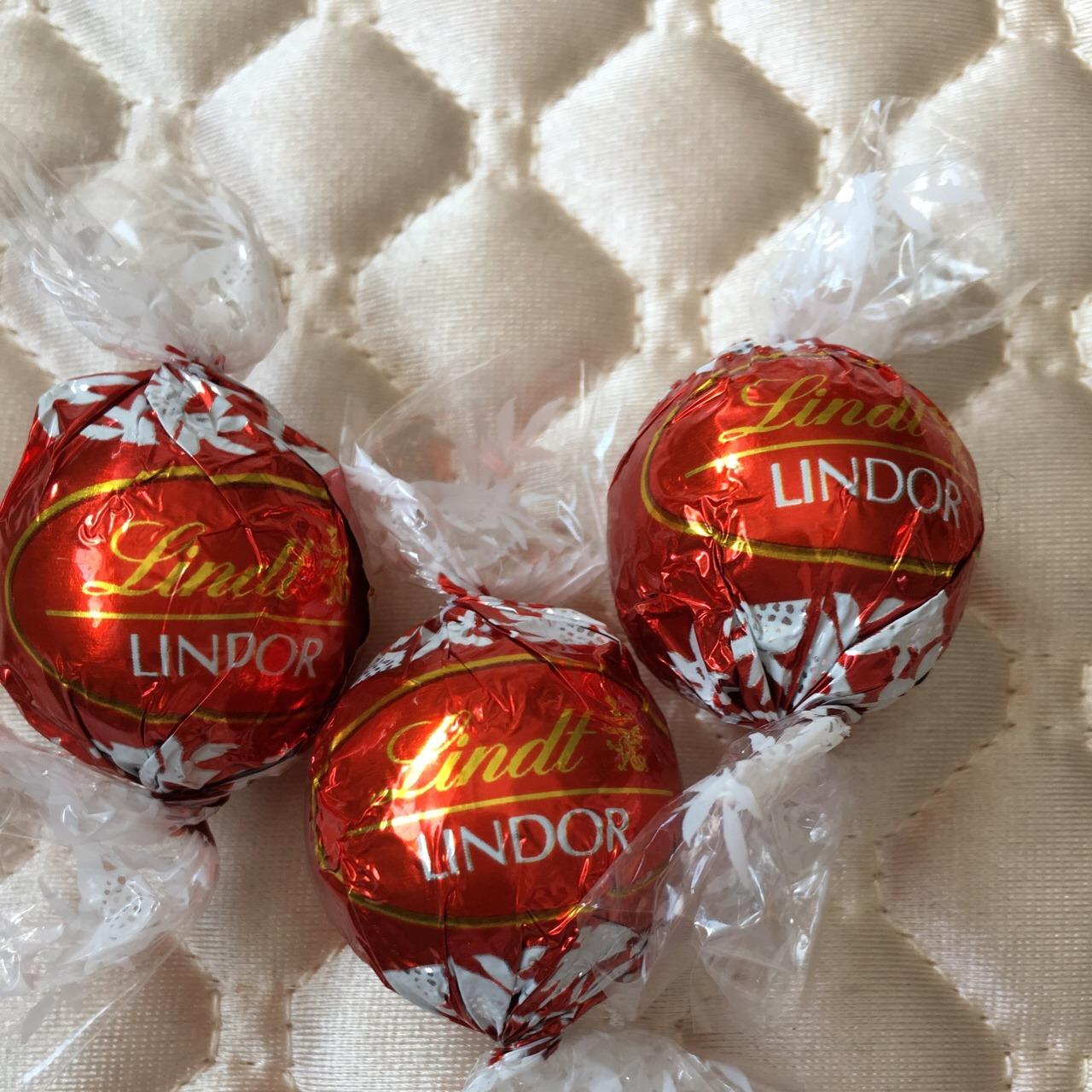 lindor巧克力 嘴巴停不下来