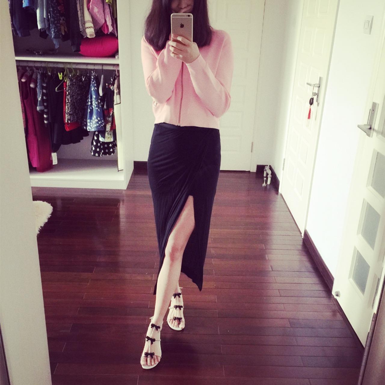 caovilla蝴蝶结水晶凉鞋