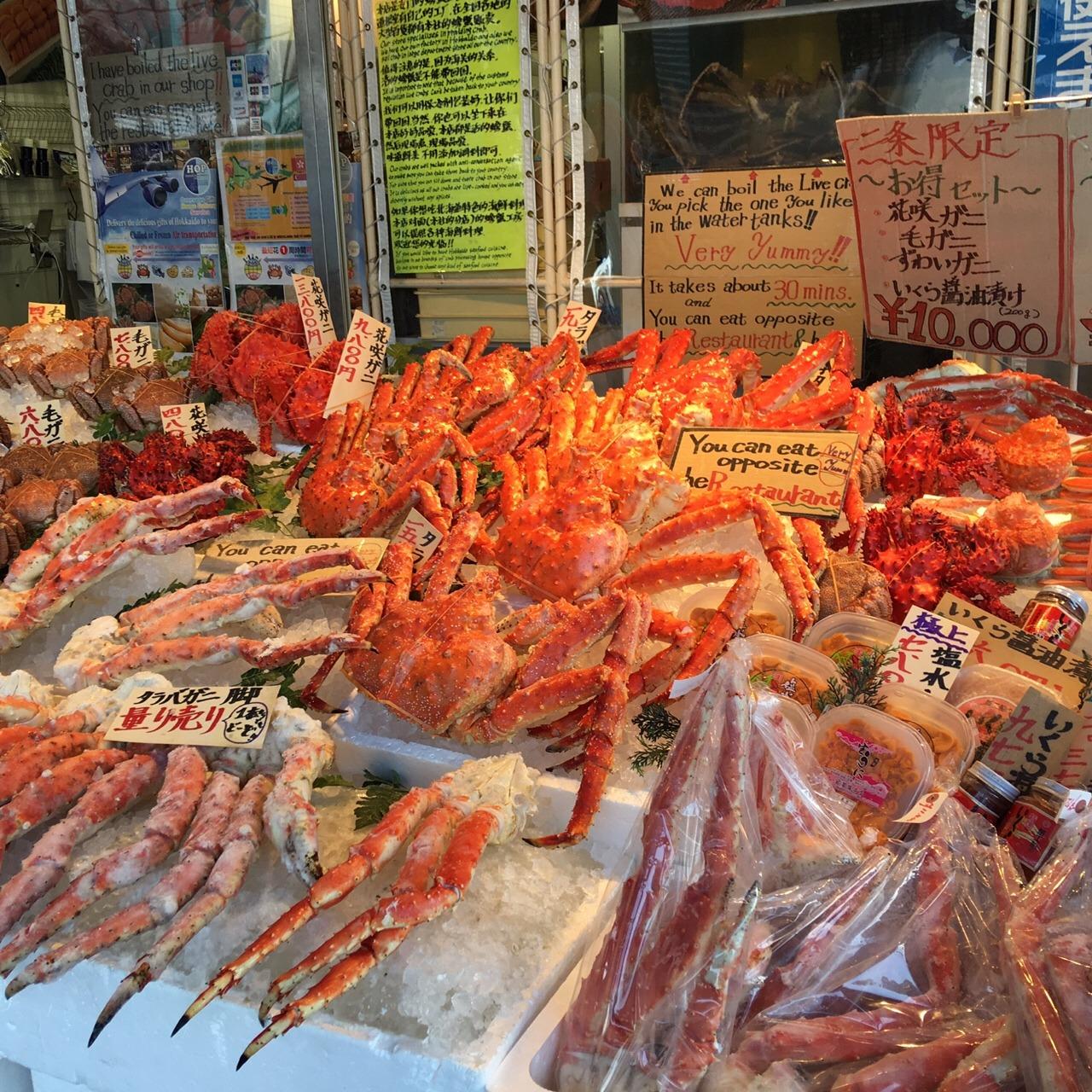 北海道-札幌二条海鲜市场