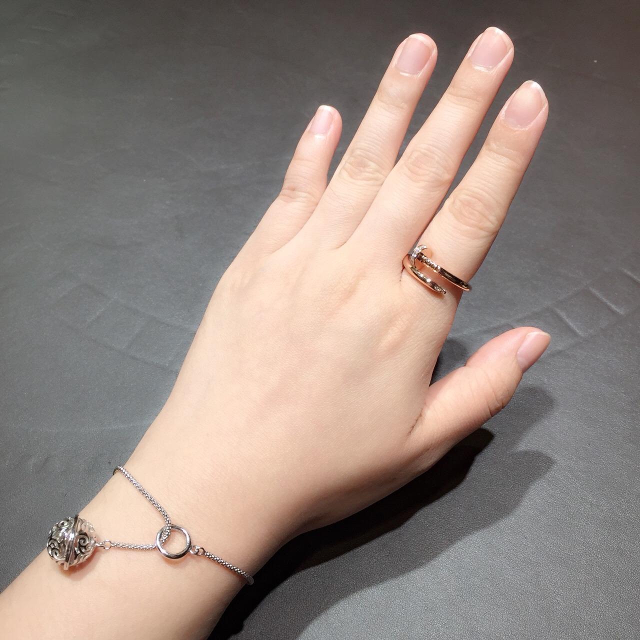 卡地亚钉子戒指-上海珠宝首饰