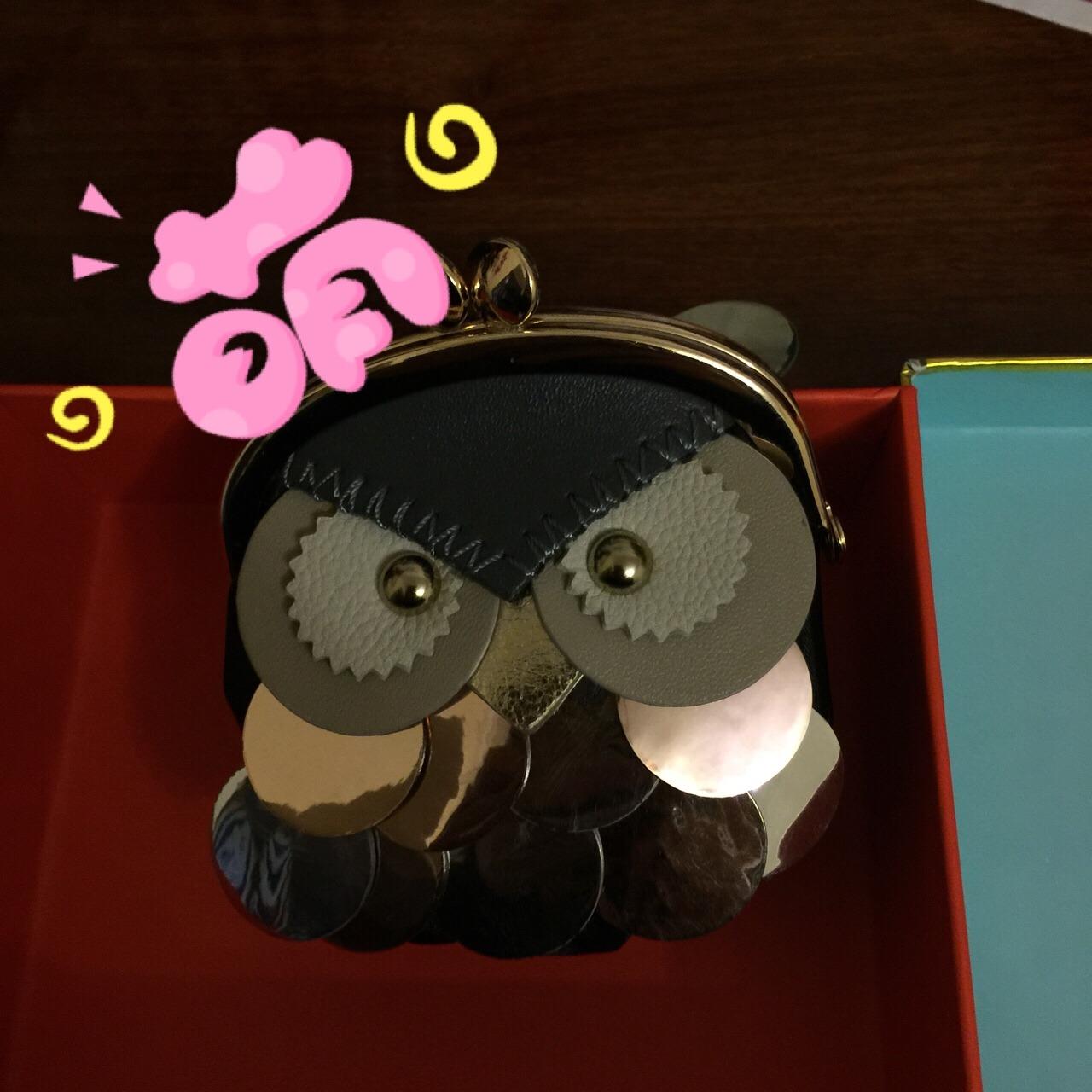 猫头鹰的小包包,好可爱,放零钱,有点舍不得,没用就放着当装饰品