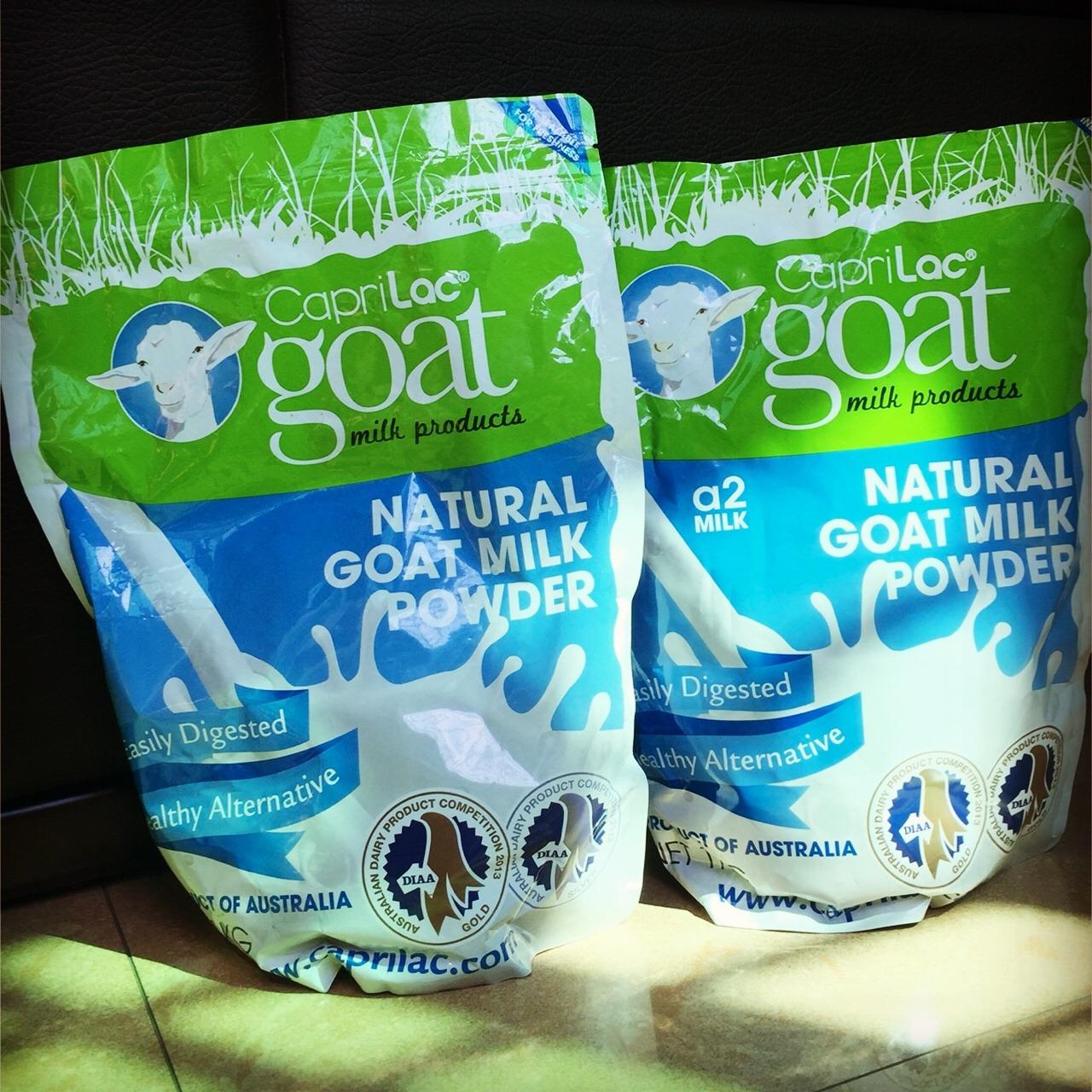 澳洲caprilac a2羊奶粉1kg澳洲最棒的羊奶