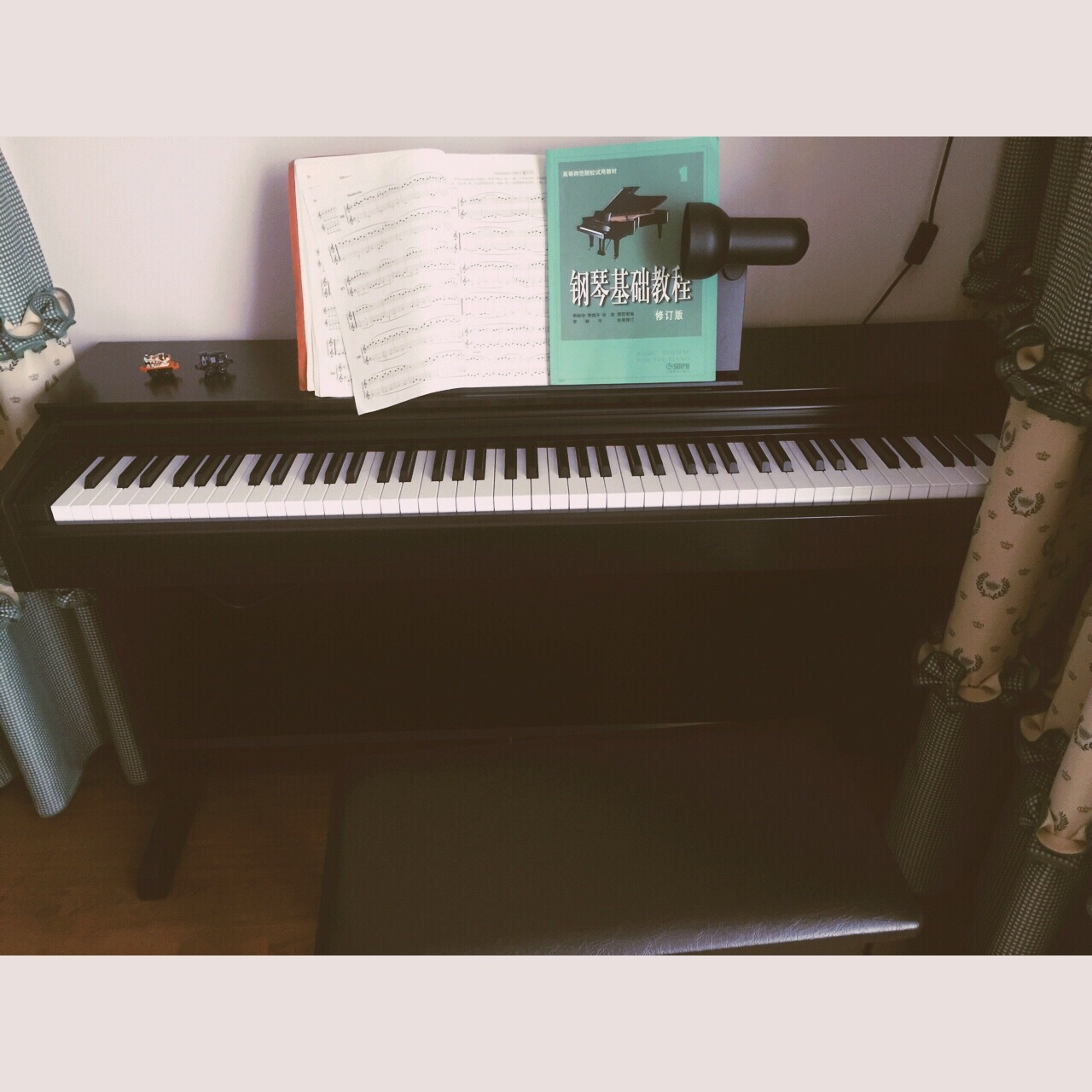 电钢琴,钢琴