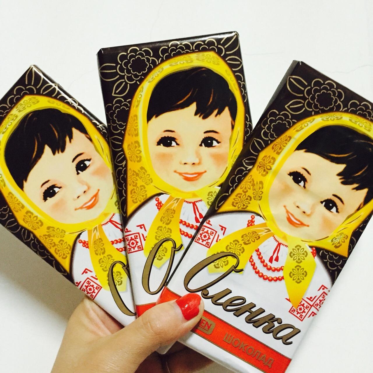 俄罗斯 大头娃娃92巧克力95