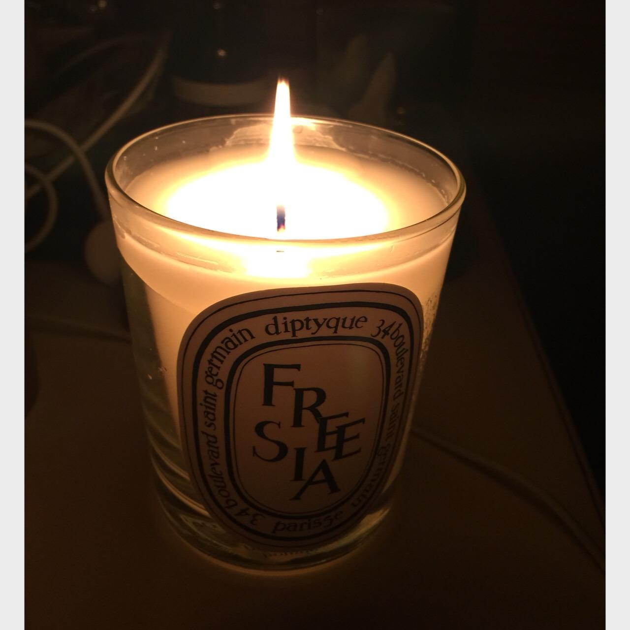 三头蜡烛灯