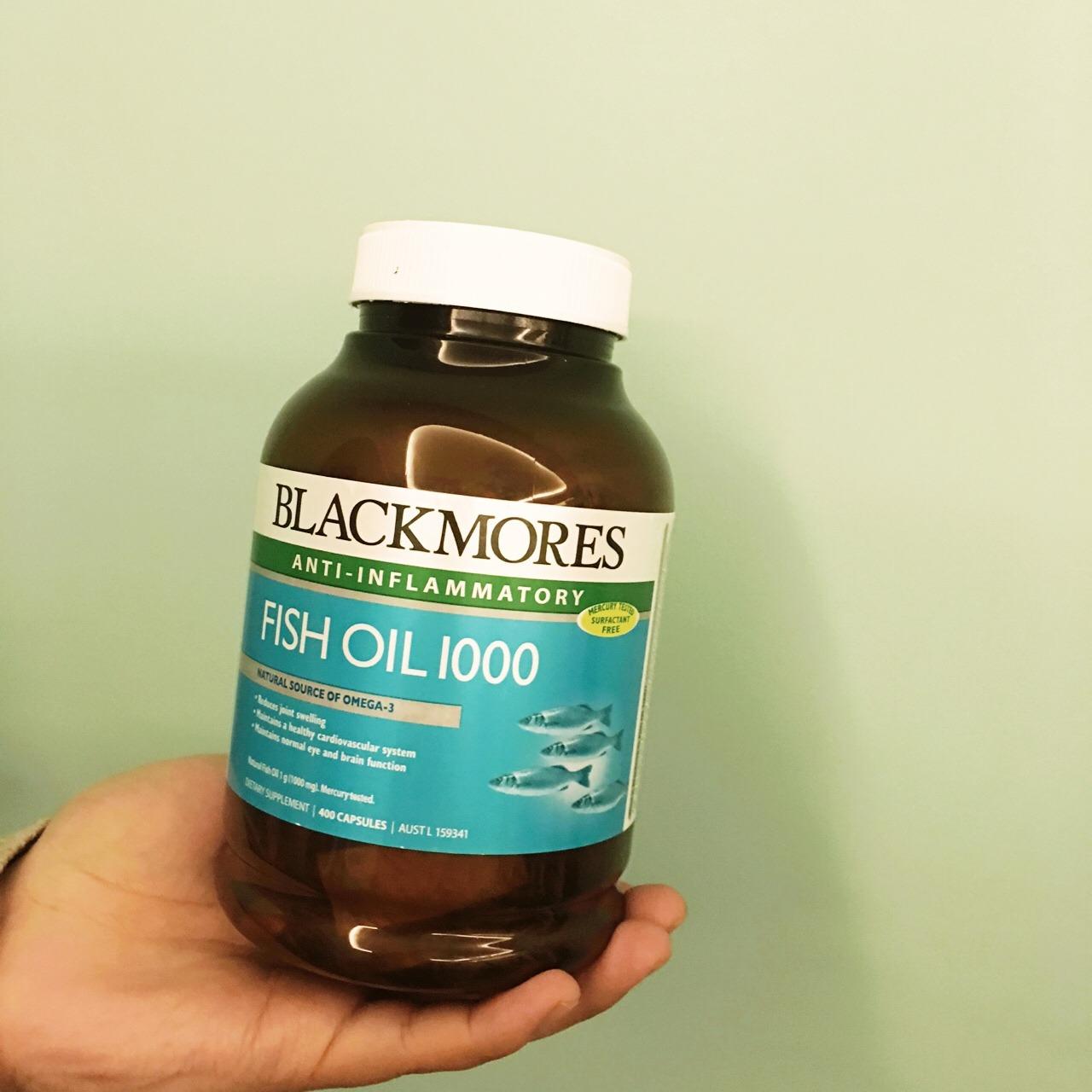 澳洲blackmores深海鱼油