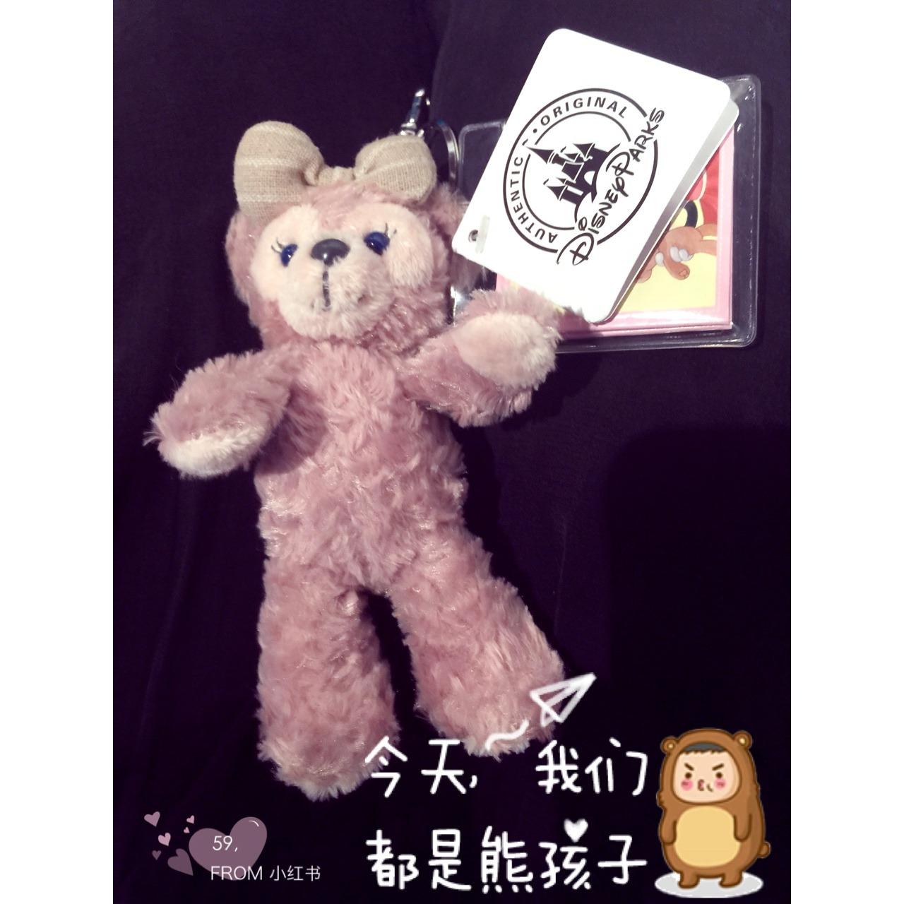 迪士尼达菲熊挂件图片