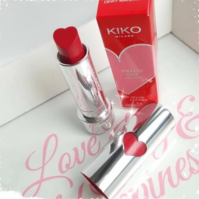 kiko~情人节限定心型口红