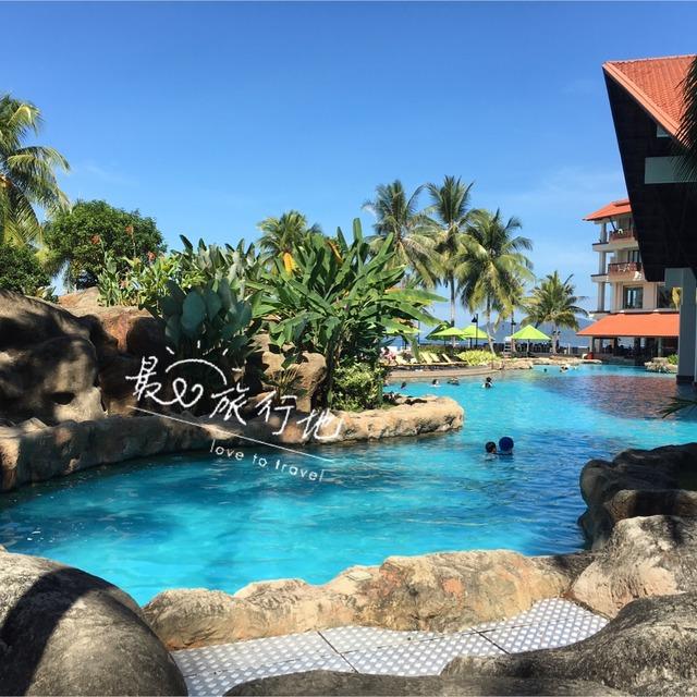 游泳池有好几个 还有个泳道 健身房 卡拉o_酒店_海岛酒店度假-小红书