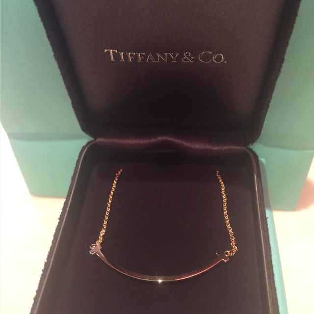 tiffany 微笑项链