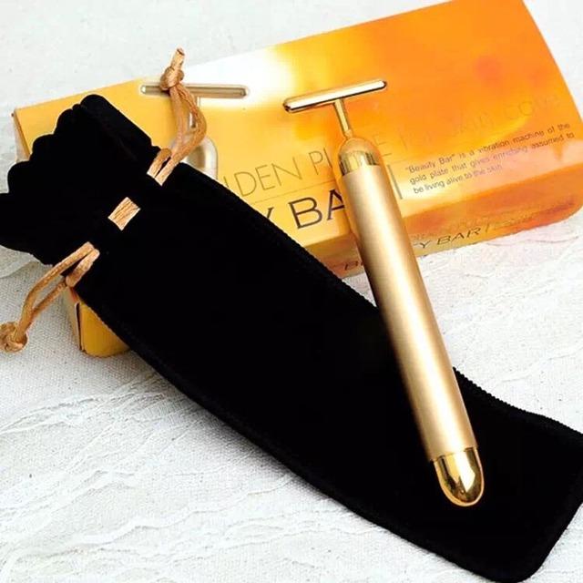 24k黄金美容棒的使用方法