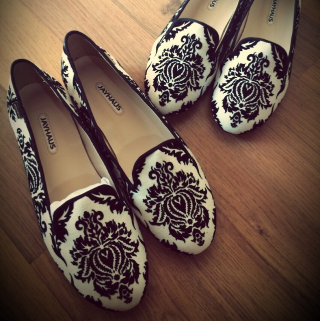 黑白花纹鞋子_小红书购物笔记
