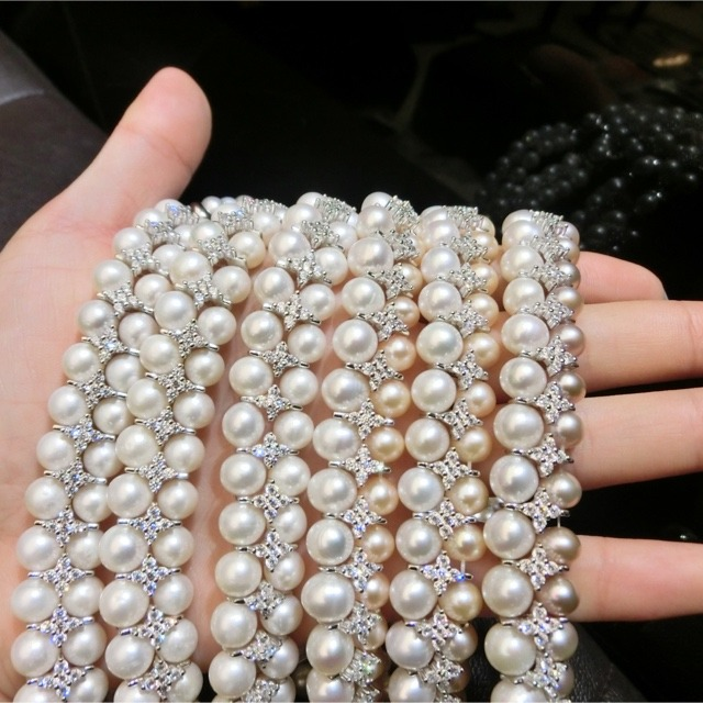 电影〖一生一世〗高圆圆珍珠项链