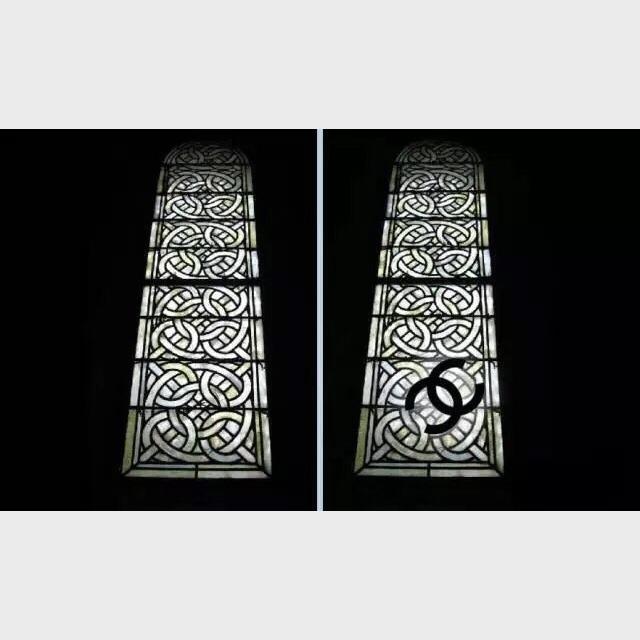 璃窗花纹设计过