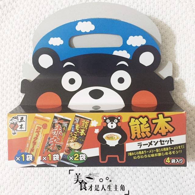 itsuki 熊本拉面组合4袋入