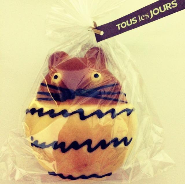 多乐之日龙猫面包