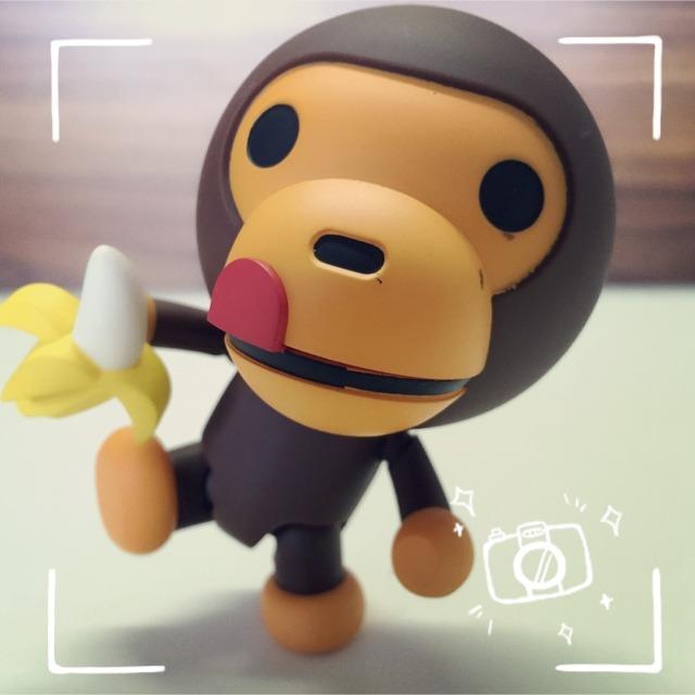小猴子太可爱了