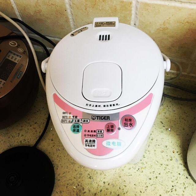 虎牌的微电脑热水壶 可