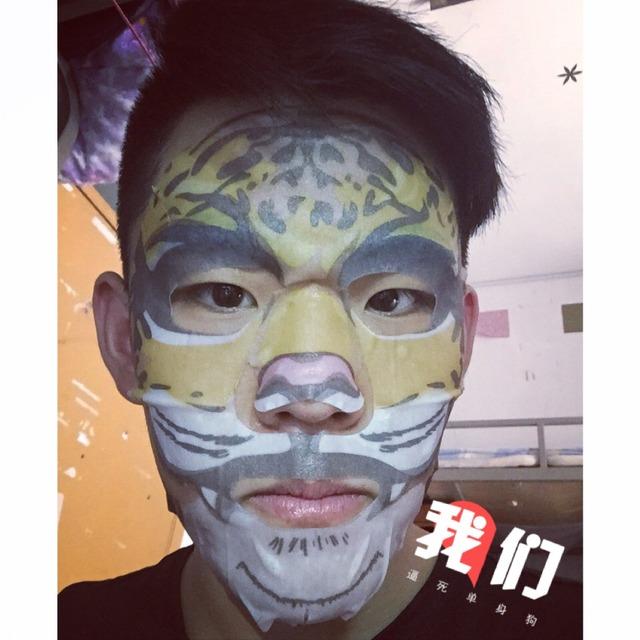 snp动物面膜和京剧脸谱面膜