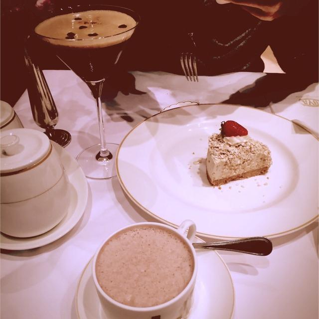 19      和小伙伴k11下午茶…cova的栗子蛋糕和燕麦蛋糕还不错