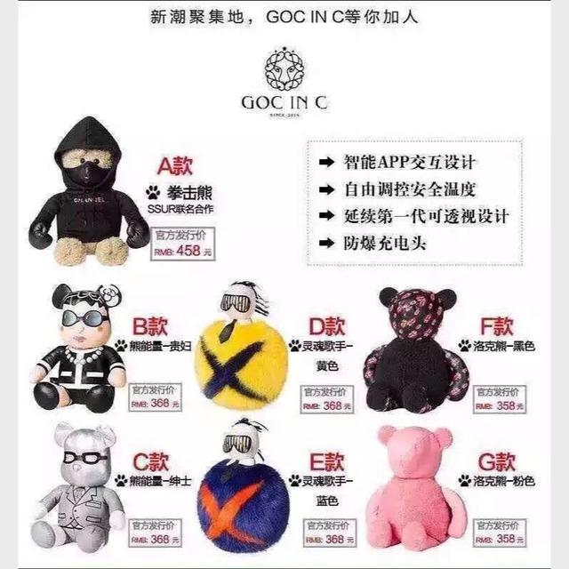 goc in c 全新智能热水袋