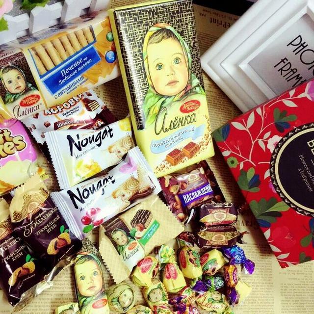俄罗斯 大头娃娃 巧克力