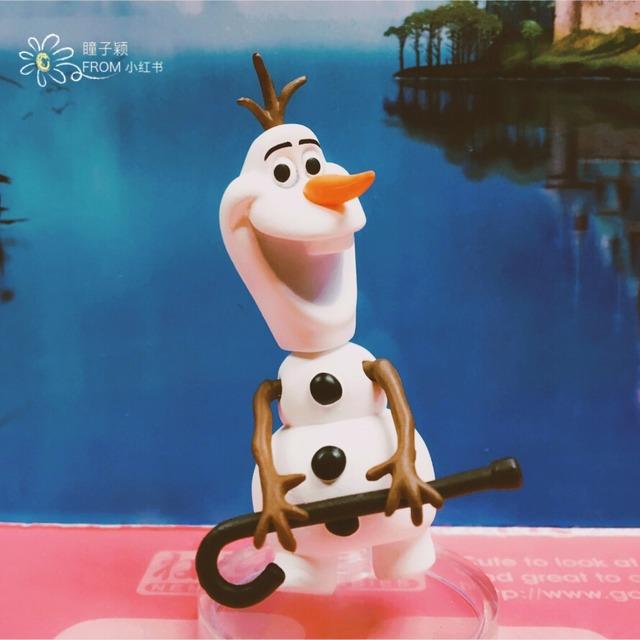 冰雪奇缘可爱的妹妹安娜公主这款粘土人自预定起等了半年多终于到了手里粘土安娜非常可爱,手掌大小,几乎所有关节可动,细节精致,表情也十分生动,两套表情两套手臂可换小雪人Olaf更是萌萌哒,可以换上小帽子跳踢踏舞~