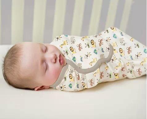 婴儿襁褓尿布包法图解