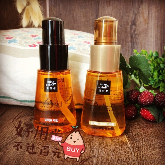 韩国爱茉莉美妆仙护发精油图片