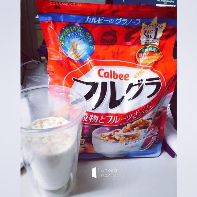 [么么哒][么么哒]calbee水果麦片
