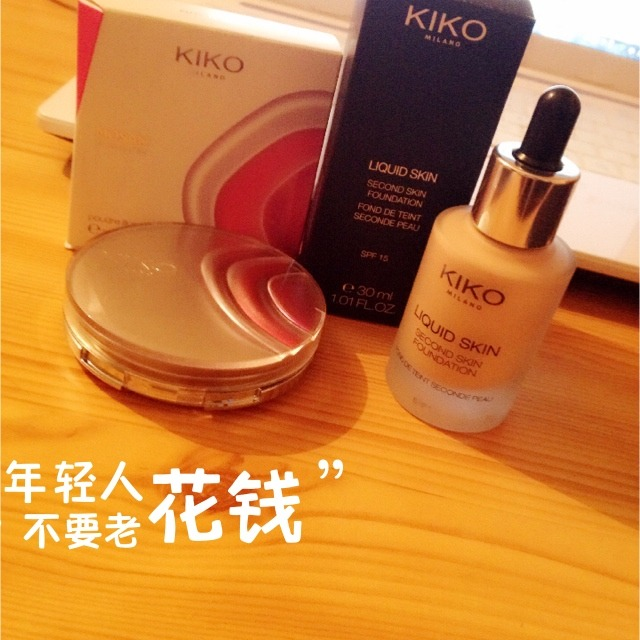 kiko意大利t台秀模特用的化妆品