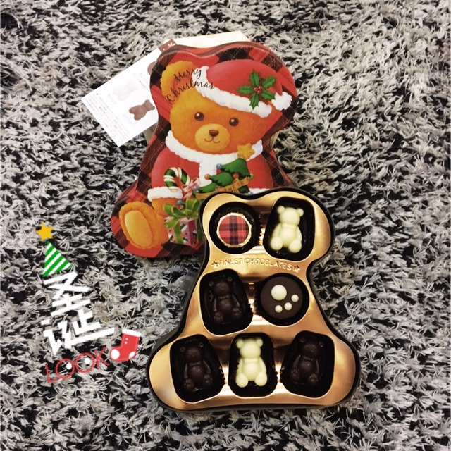 这次又把惊喜装进可爱的小熊礼盒里,打开就能看见满满的丝滑的巧克力