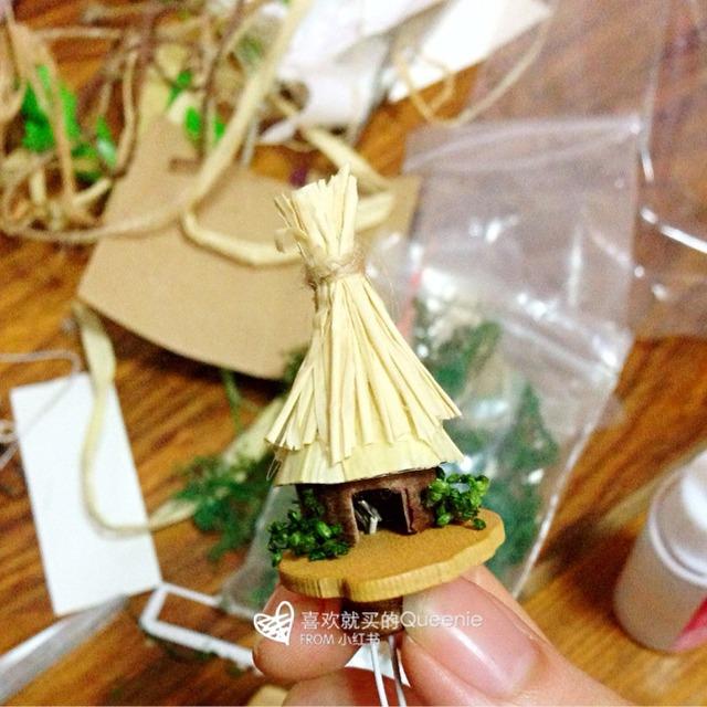 纸壳小屋制作过程