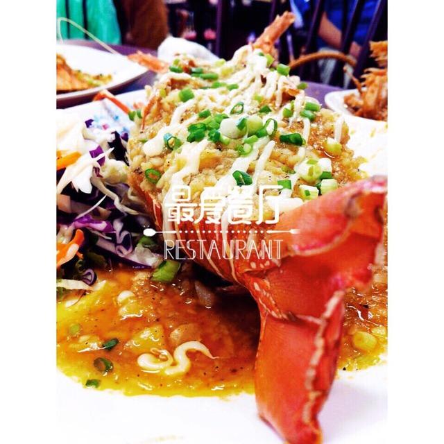 普吉岛的海鲜大餐