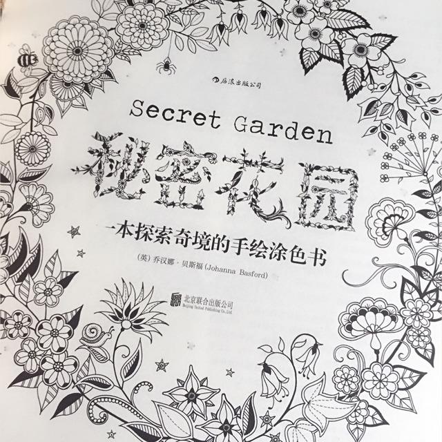 9698泡菜国的秘密花园9896减压涂色本
