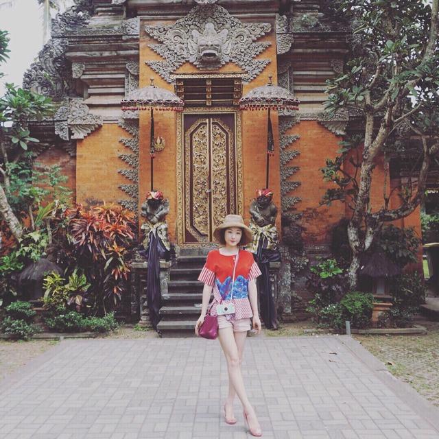 巴厘岛乌布皇宫#乌布市场