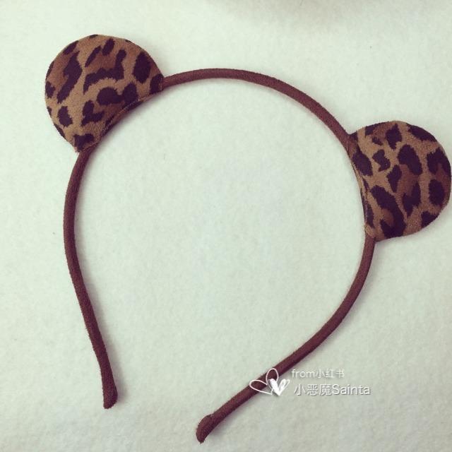 阿吉豆的动物耳朵发箍和恶魔发箍