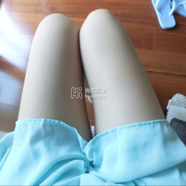 白色连裤袜